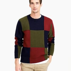 J.Crew 1993 Re-Released Color Panel Sweater Unisex